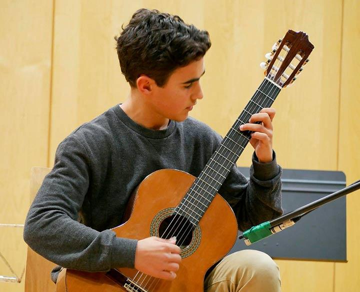 Un alumno de Erain, premiado en el XIII Concurso de Jóvenes Músicos de Euskadi