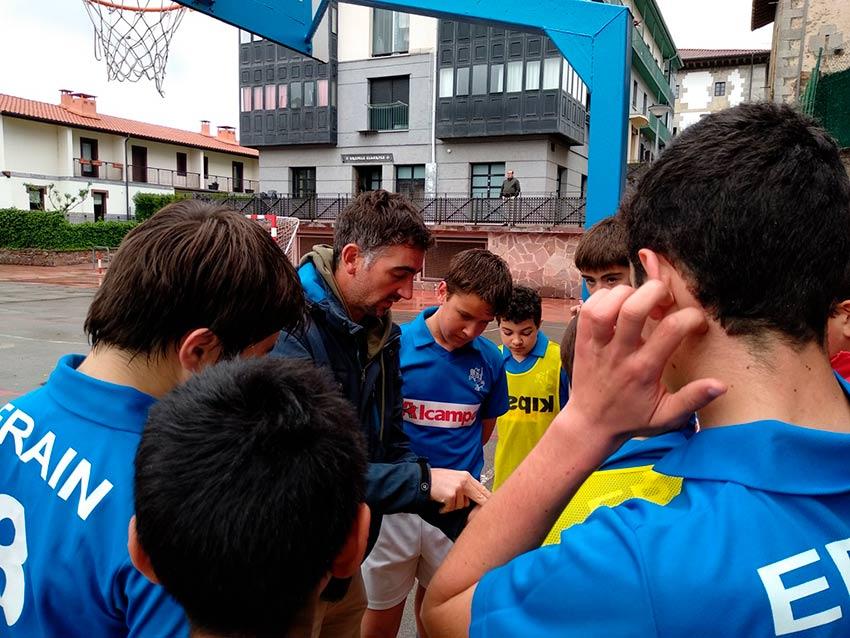 En las semifinales del campeonato de Gipuzkoa
