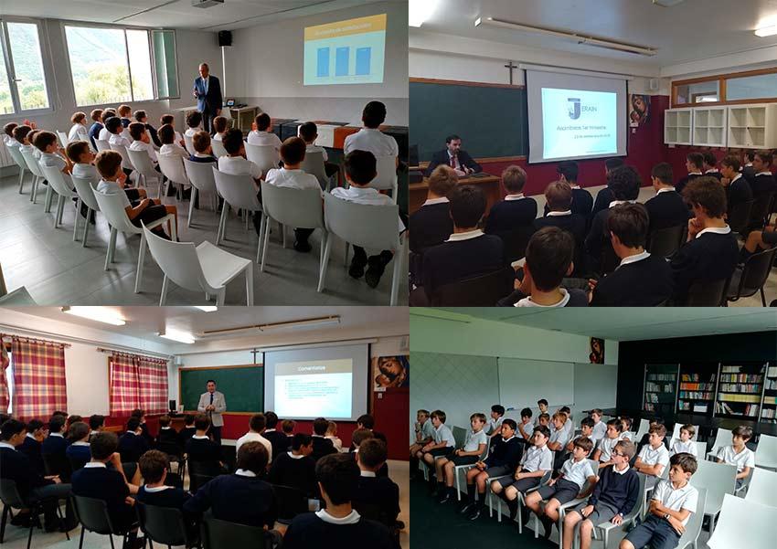 Primer acto académico oficial del curso: las Asambleas