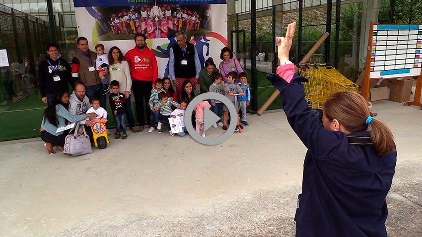 Carrera de minimotos y Olimpiada Infantil Familiar: Esfuerzo, compañerismo y deportividad